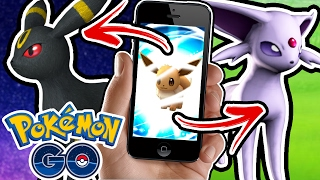 HOW TO EVOLVE ESPEON AND UMBREON EASTER EGG (Pokemon Go)