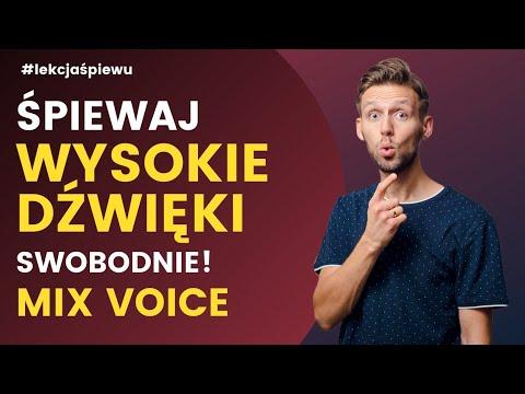 Jak śpiewać Wysokie Dźwięki Swobodnie - MIX - LEKCJE ŚPIEWU - Lekcja #9