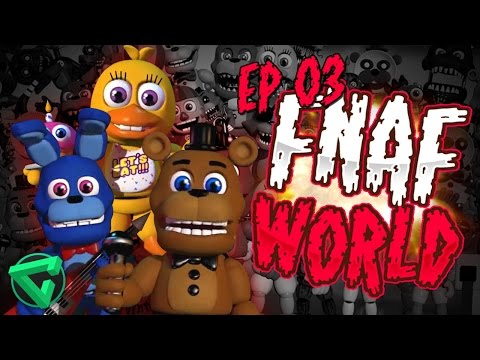 FNAF WORLD: EL CEMENTERIO DE LA MUERTE #3 - Five Nights at Freddy's World | iTownGamePlay