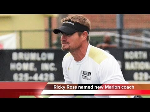 Ricky Ross new head football coach at Marion County High School