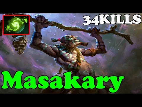 Dota 2 - Masakary Plays Witch Doctor - Ranked Match Gameplay