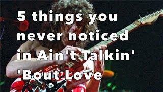 Download Lagu 5 Things You Never Noticed in Ain't Talkin' 'Bout Love by Van Halen! Weekend Wankshop 184 Gratis STAFABAND