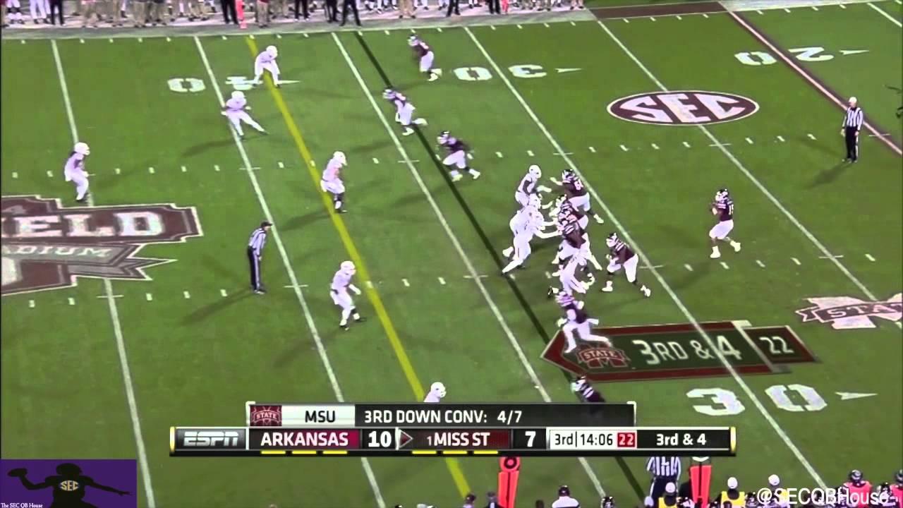 Dak Prescott vs Arkansas (2014)