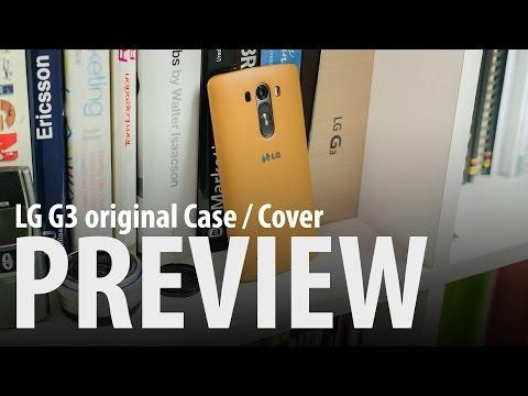 LG G3 Original Case / Cover : Hands-on