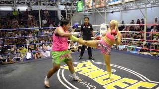 Katya PhuketTopTeam Russia vs Pechnamnung Thailand 10th Feb 2016