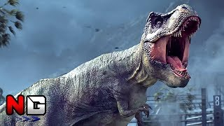 Jurassic World Evolution - Trailer | PS4, XBOX ONE, PC (Jurassic Park)