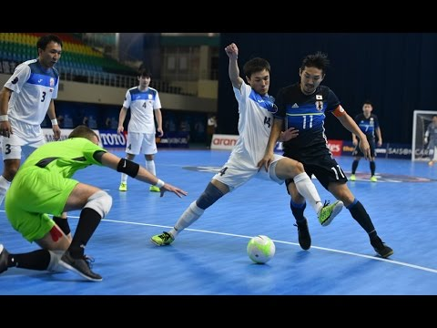 KYRGYZSTAN vs JAPAN: AFC Futsal Championship 2016 (Playoffs)