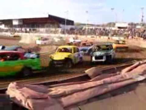 Stan Woods Memorial 2013 - pre70 classic banger racing at Stoke