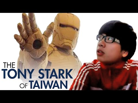 Cardboard Iron Man by Tony Stark of Taiwan