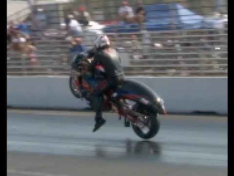 Maryland International Raceway Hooks so good that both Bike Tires lift off!