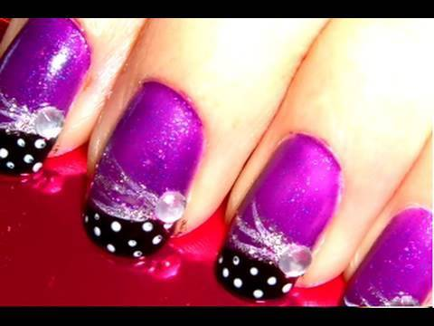 ☆PURPLE ROCK★STAR NAILS ☆ Video