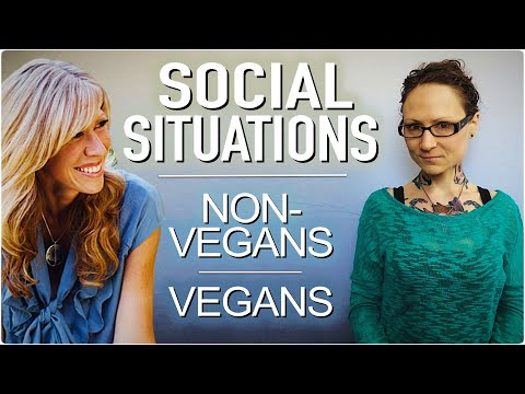 Navigating Social Situations As A Vegan ft  Colleen Patrick-Goudreau