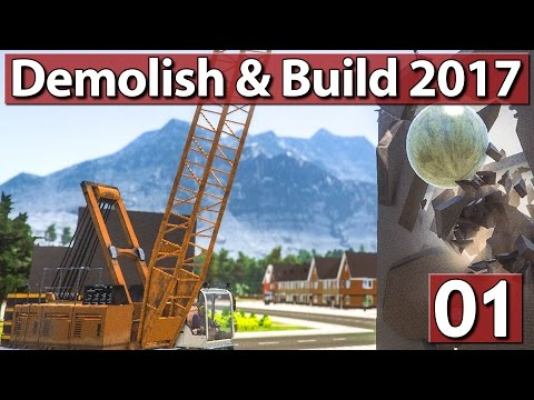 KAPUTT MACHEN! ► #1 Demolish & Build Simulator 2017
