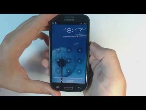 Samsung Galaxy S3 I9300 - How to reset - Como restablecer datos de fabrica