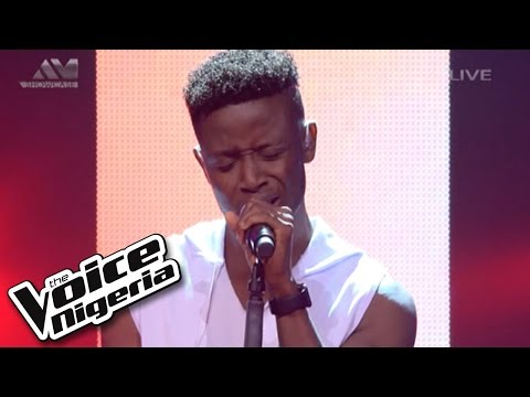 """Chike sings """"Earned It"""" / Live Show / The Voice Nigeria 2016"""