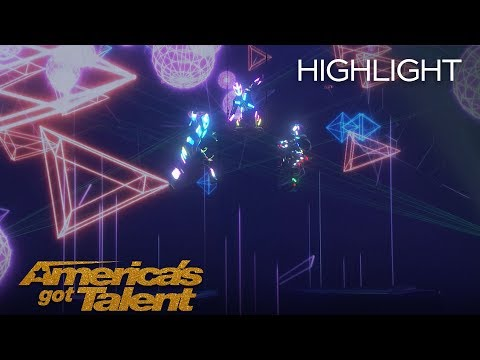 A Magical Cirque Christmas Delivers Stunning Performance On AGT - America's Got Talent 2018