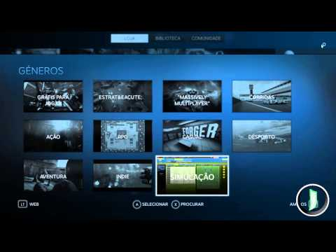 Novidade Steam: Big picture é a mais nova interface interativa da Steam