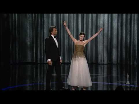 Hugh Jackman's opening number at the Oscars