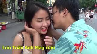 lưu Tuấn Anh Magician hôn milona kìa hahaha đẹp đôi 33