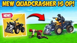 *NEW* QUADCRASHER CAR IS INSANE! - Fortnite Funny Fails and WTF Moments! #354