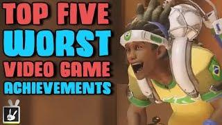 Top Five Worst Video Game Achievements