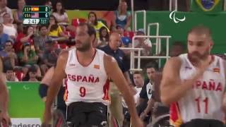 Wheelchair Basketball | Spain v U.S.A | Men's Gold medal match | Rio 2016 Paralympic Games