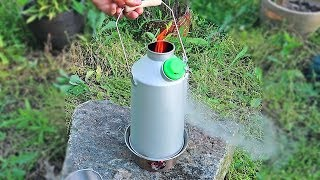 World's First Rocket Stove Kettle!