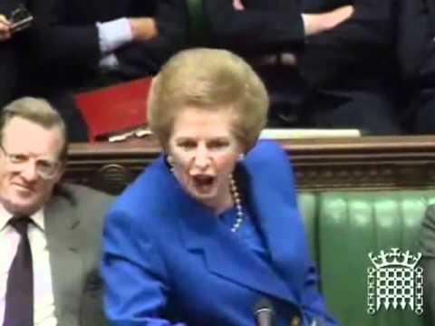 Margaret Thatcher No No No