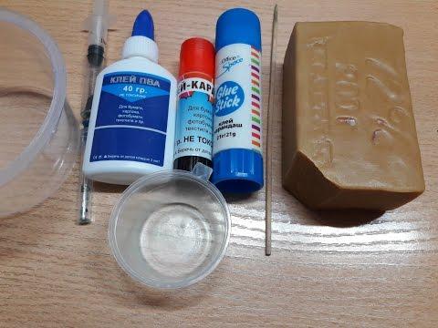 Как сделать жидкий клей в домашних условиях