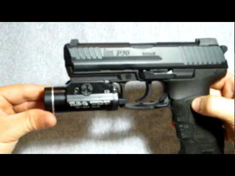 TLR-1s mounted on H&K P30 9mm