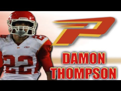 Damon Thompson : Paraclete High ( Lancaster , CA) Class of 2014- Senior Year Highlights