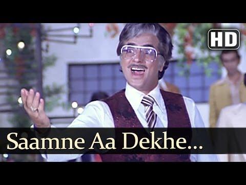 Saamne Aa Dekhe Zamana (hd) - Judaai Songs - Jeetendra - Rekha - Asha Bhosle - Kishore Kumar video
