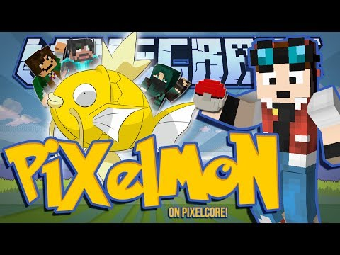 THE GOLDEN MAGIKARP!   Minecraft: Pixelmon Mod w/ DanTDM & Friends! [#1]