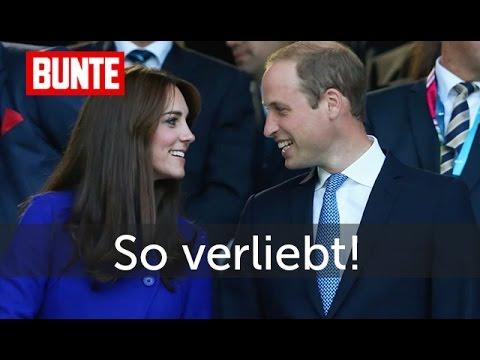 Herzogin Kate Prinz William Sooo Verliebt Wie Am Ersten Tag