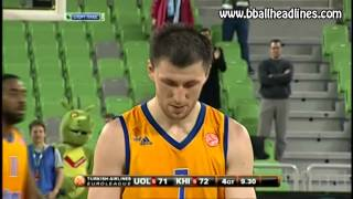 Olimpija vs Khimki last 30 seconds