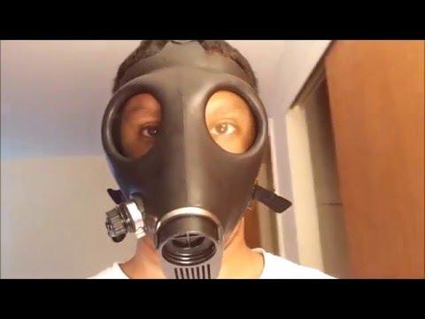 Israeli civilian gas mask and Russian GP-5