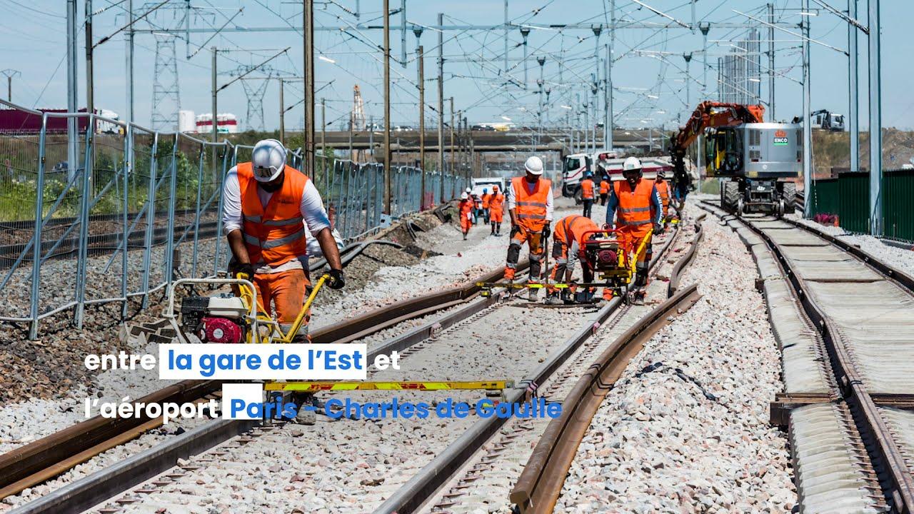 CDG Express - Les chantiers 2020 par SNCF Réseau