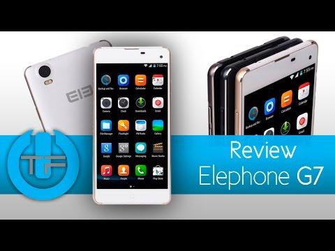 Elephone G7 - Un celular de gama media con buen rendimiento