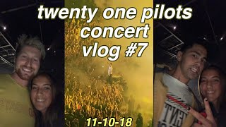 twenty one pilots concert! // vlog #7 // ft. toddy smith & scotty sire (also ft. clickbait)