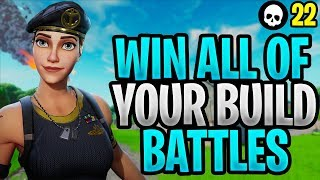 How To Win ALL Your Build Battles In Fortnite Season X! (Fortnite Season 10 Building Tips)