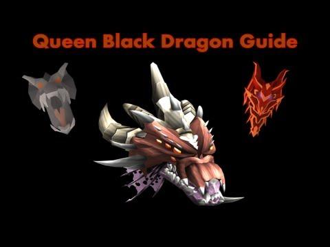 Queen Black Dragon Melee Guide Runescape 2013: 3M Per Hour [Drygore Setup]