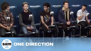 "One Direction Video - One Direction ""More Than This"" // SiriusXM // Artist Confidential"