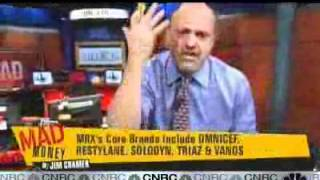 Cramer Interviews Medicis Pharmaceuticals CEO