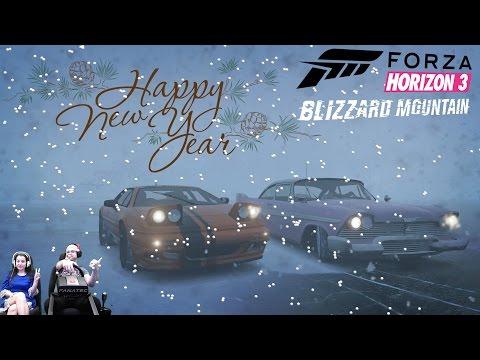 Совместные гонки в Blizzard Mountain - Forza Horizon 3