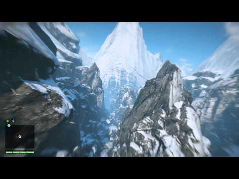 Far Cry 4 (PS4) - Descenso del Himalaya en traje aéreo