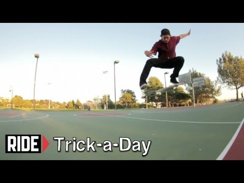 How-To Kickflips with Dennis Durrant -Trick-a-Day