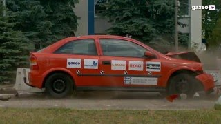 Crash test auta z LPG