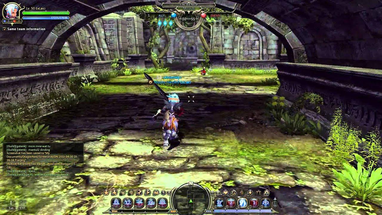 Dash Dragon Nest Dragon Nest Gladiator Skill