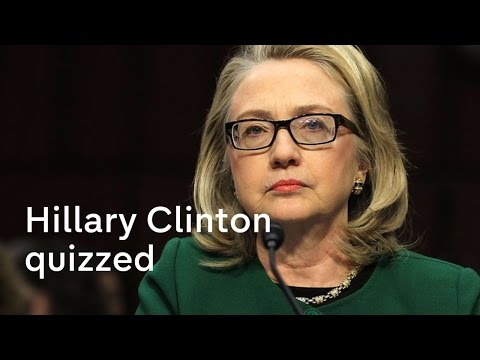 Hillary Clinton quizzed over Benghazi attack
