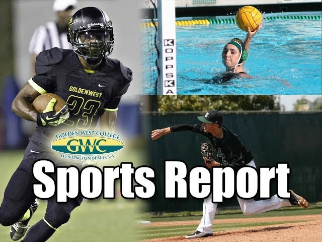 Golden West College Sports Report for 10-17-13